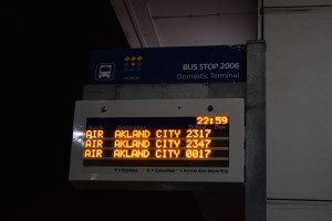 47分のバスに乗ります
