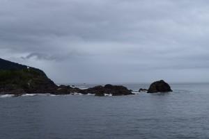 この先はタスマン海。遥か先はオーストラリア