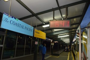 発車の7時が待ち遠しいU10
