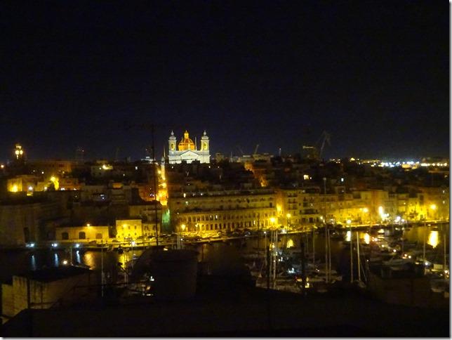 マルタの夜景